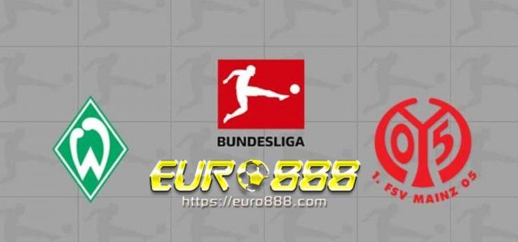 Soi kèo Werder Bremen vs Mainz 05 – VĐQG Đức – 18/12 – Euro888