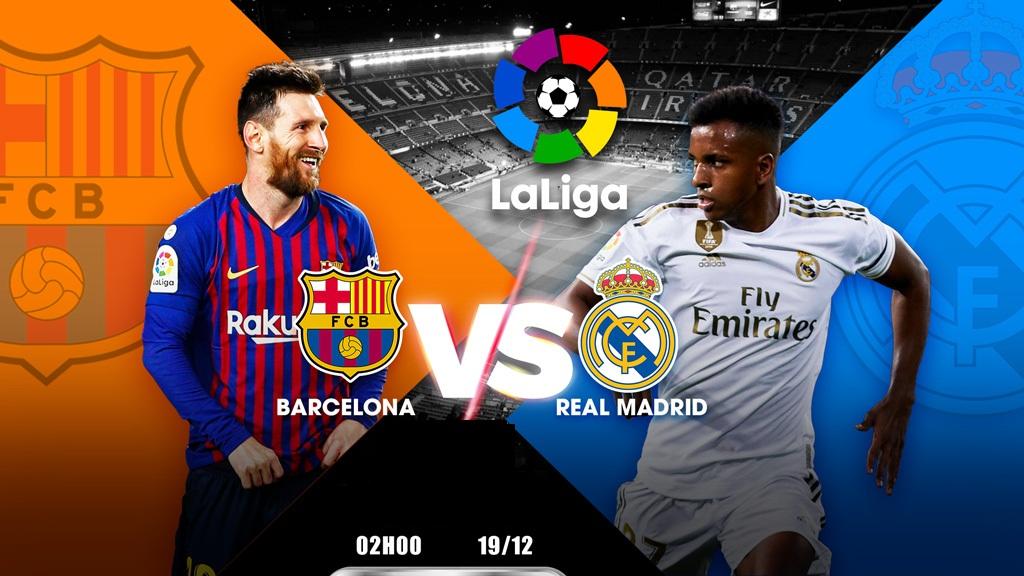 Nhận định Barcelona vs Real Madrid – VĐQG Tây Ban Nha – 19/12 – Euro888