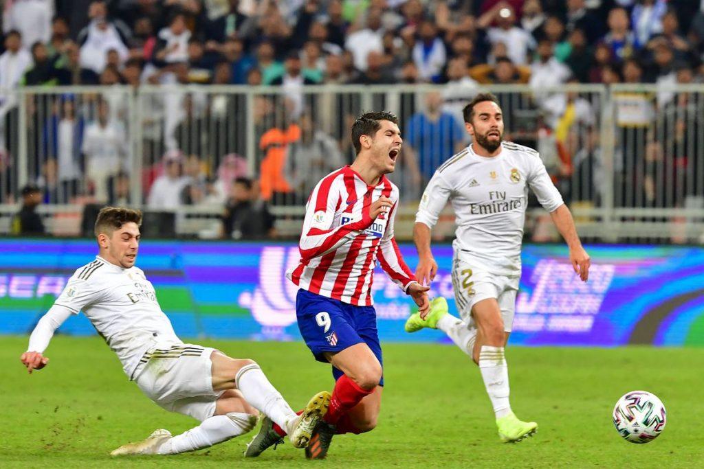 Nhận định Real Madrid vs Atletico Madrid – VĐQG Tây Ban Nha - 01/02/2020 - Euro888