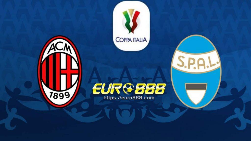 Soi kèo AC Milan vs Spal – Cúp Quốc gia Italia - 16/01/2020 - Euro888