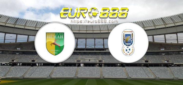Soi kèo Neman Grodno vs Energetik-BGU Minsk – VĐQG Belarus - 25/04/2020 - Euro888