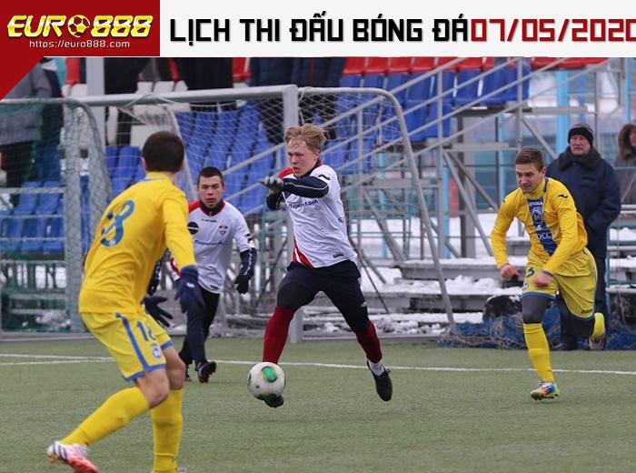 Lịch thi đấu bóng đá 7-5-2020