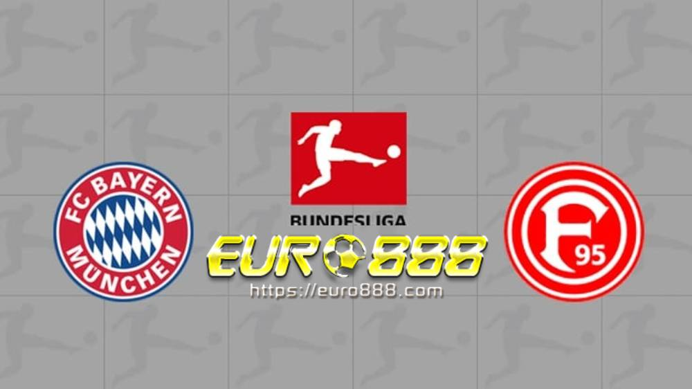 Soi kèo Bayern Munich vs Fortuna Dusseldorf – VĐQG Đức - 30/05/2020 - Euro888