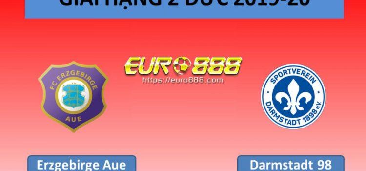 Soi kèo Erzgebirge Aue vs Darmstadt 98 – Hạng 2 Đức - 26/05/2020 - Euro888