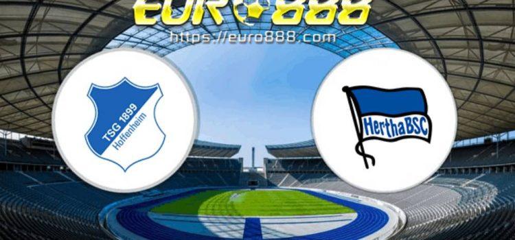 Soi kèo Hoffenheim vs Hertha Berlin – VĐQG Đức - 16/05/2020 - Euro888