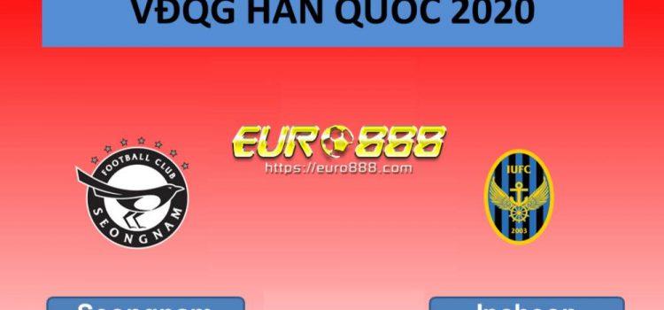 Soi kèo Seongnam vs Incheon United – VĐQG Hàn Quốc - 17/05/2020 - Euro888