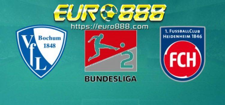 Soi kèo VfL Bochum vs Heidenheim 1846 – Hạng 2 Đức - 16/05/2020 - Euro888