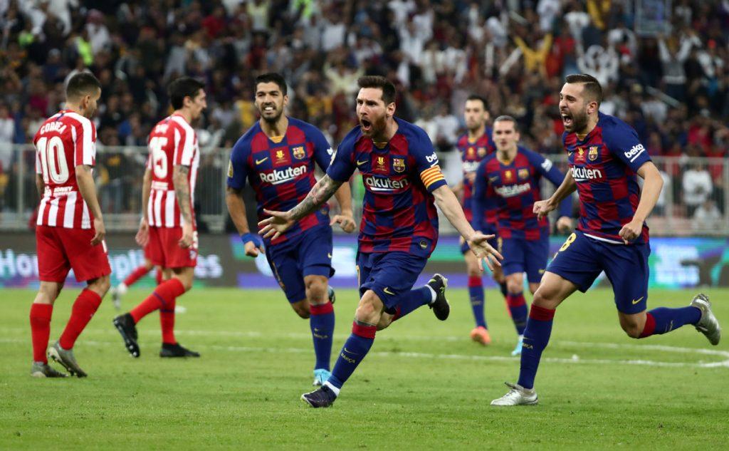 Nhận định Barcelona vs Atletico Madrid - VĐQG Tây Ban Nha - 01/07/2020 - Euro888