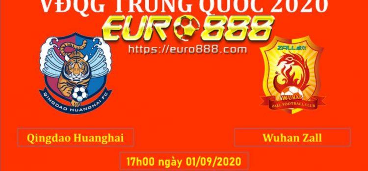 Soi kèo Qingdao Huanghai vs Wuhan Zall - VĐQG Trung Quốc - 01/09/2020 - Euro888