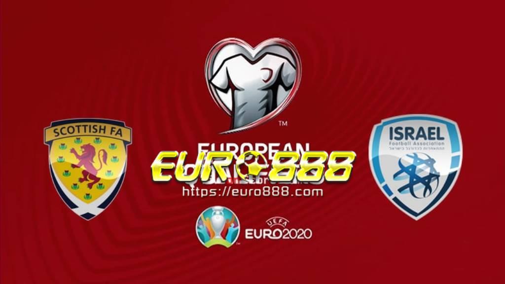 Soi kèo Scotland vs Israel – Play-off Euro 2020 – 09/10/2020 – Euro888