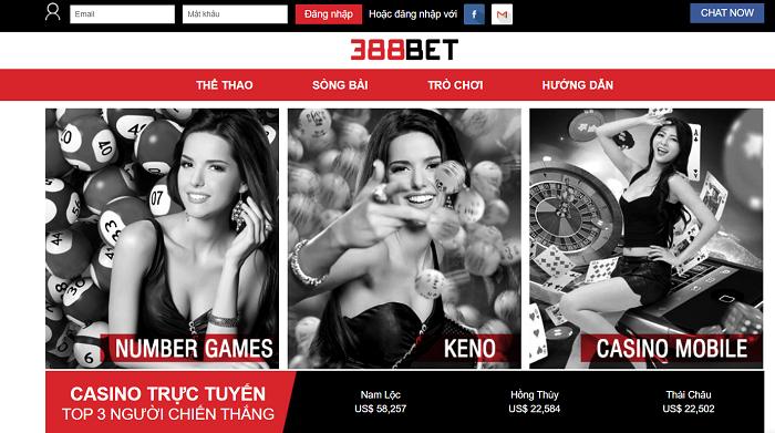 Casino online đầy quyến rũ