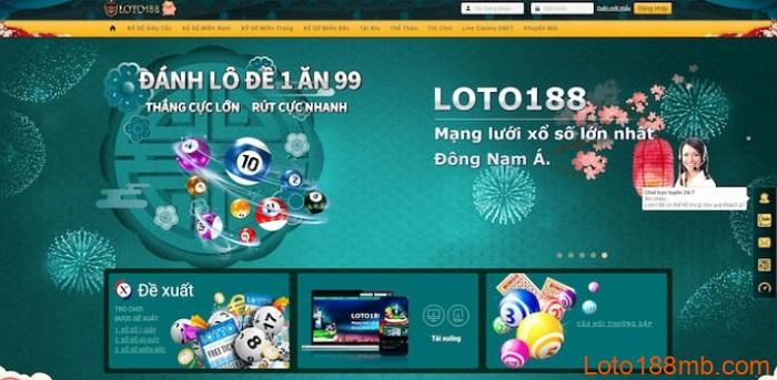 Loto188 - Trang đánh lô đề hàng đầu Đông Nam Á