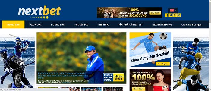 Trang thể thao trực tuyến - Nextbet