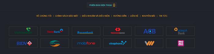 Liên kết với nhiều ngân hàng lớn