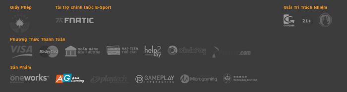 Letou hỗ trợ người chơi nhiều hình thức thanh toán