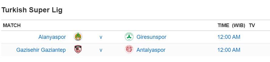 Giải vô địch quốc gia Thổ Nhĩ Kỳ