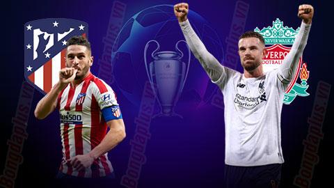 NHẬN ĐỊNH CUP C1: ATL. MADRID VS LIVERPOOL 02H00 20/10